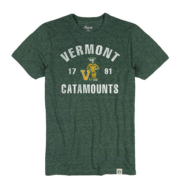 Vermont Vintage Catamounts Charlie Tri-Blend T-Shirt (SKU 125882681194)