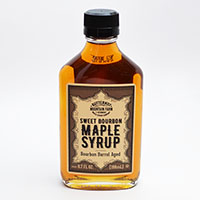 Infused Sweet Bourbon Maple Syrup