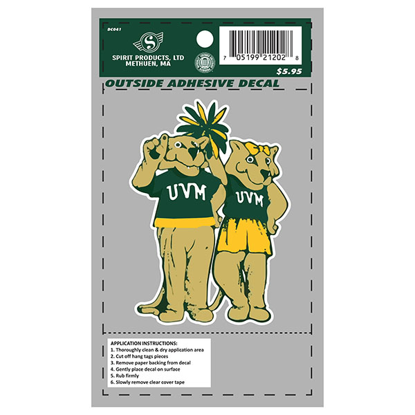 Vermont Vintage Charlie & Kitty Decal (SKU 125889091194)