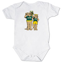 Vermont Vintage Infant Charlie & Kitty Bodysuit
