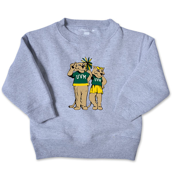 Vermont Vintage Infant-Toddler Charlie & Kitty Crew (SKU 125901551194)
