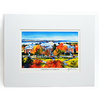 Mark Waitkus Autumn Campus Prints