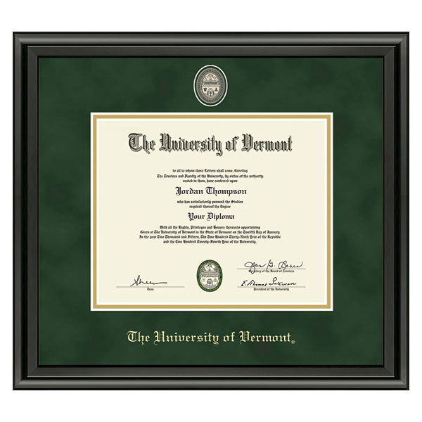 Masterpiece Medallion Midnight Diploma Frame (SKU 126013181109)