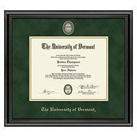 Masterpiece Medallion Midnight Diploma Frame