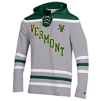 Champion Super Fan Diagonal Vermont Lace Up Hood
