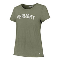 '47 Brand Women's Arched Vermont Landmark Letter T-Shirt