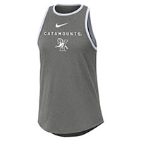 Nike Women's Catamounts V/Cat Dri-Fit Cotton High Neck Tank