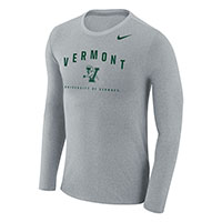 Nike Vermont Spellout Long Sleeve Marled Tee