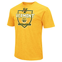 Colosseum Vermont Basketball Shield T-Shirt