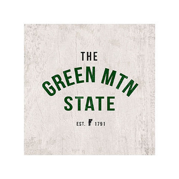 Green Mountain State Wooden Magnet (SKU 126215901200)