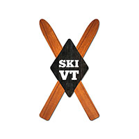 Black Diamond Ski VT Magnet