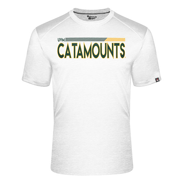 Badger Uvm Catamounts Flex Fit T-Shirt (SKU 126219581067)