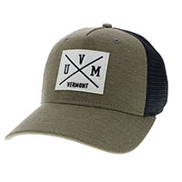 Legacy Uvm Crossed Lines Trucker