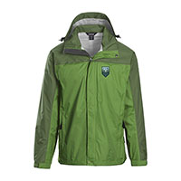 USCAPE UVM GEO MOUNTAINS LANDWAY RAIN JACKET