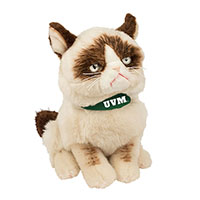 Gund Grumpy Cat With UVM Bandada