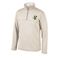 Top Of The World V/Cat Sherpa-Lined 1/4 Zip