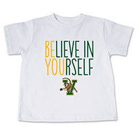 College Kids Believe In Yourself T-Shirt