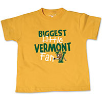 College Kids Biggest Little Vermont Fan T-Shirt