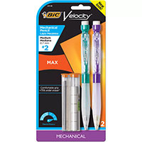 Bic Velocity Max Mechanical Pencil 2Pk