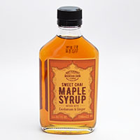 Infused Sweet Chai Maple Syrup