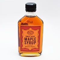 Infused Sweet Heat Maple Syrup