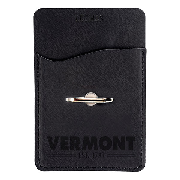 Vermont Leatherette Card Holder & Phone Stand (SKU 126406691242)