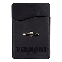 Vermont Leatherette Card Holder & Phone Stand
