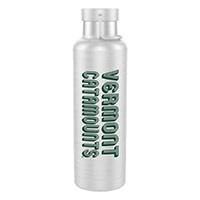 H2go Vermont Catamounts Insulated Bottle