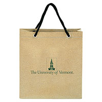 Gift Bag - Gold Glitter Tower Logo