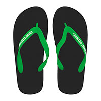 Vermont Catamounts Jelly Strap Flip Flops