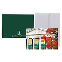 Waterman In Autumn Photo Card