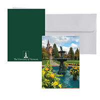 Old Mill Fountain Photo Card