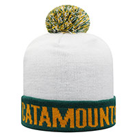 TOP OF THE WORLD VERMONT CATAMOUNTS CUFFED POM