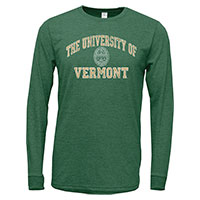 U.S. Apparel Spellout Long Sleeve Tri-Blend