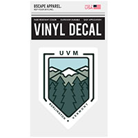 Uscape Geo Mountains Vinyl Decal