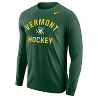 Nike Vermont Hockey Long Sleeve Core Cotton Tee