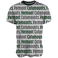 Blue 84 Bold Vermont Catamounts Sublimated T-Shirt