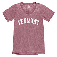 Blue 84 Vermont V-Neck Burn Out Tee