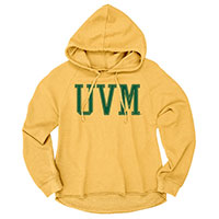 Blue 84 Ladies UVM Heathered Hoodie