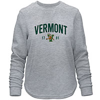 Camp David Ladies Applique Vermont V/Cat Crew