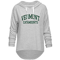 Camp David Ladies Vermont Catamounts Sweater Knit Hood