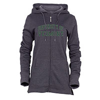 Ouray Ladies Spellout Full Zip Sweatshirt