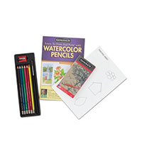 Learn To Draw And Watercolor Set