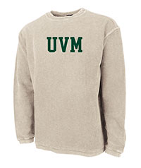 Charles River UVM Corded Crew