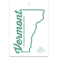 Green Mountain State Sticker