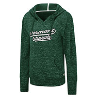 Colosseum Vermont Catamounts Speckle Fleece Hood