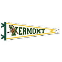 "9"" x 27"" V/CAT VERMONT PENNANT"