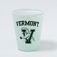 Shot Glass Speckled Vermont V/Cat