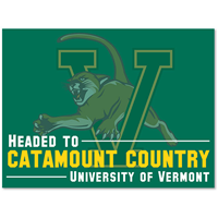 Headed To Catamount Country Lawn Sign