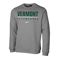 Nike Club Fleece Vermont Catamounts Crew